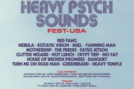 Heavy Psych Sounds Festival U.S. tour