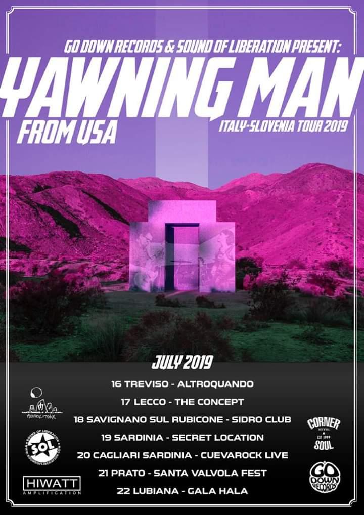 Tour Dates | YAWNING MAN