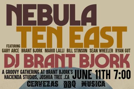 NEBULA, TEN EAST, DJ BRANT BJORK